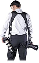 Cameraslingers CF-FS Double Camera Strap - Black