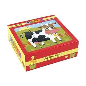 Mudpuppy On the Farm Block Puzzle