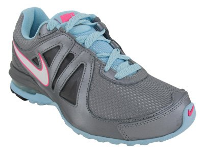 Nike Women's NIKE AIR MAX LIMITLESS WMNS RUNNING SHOES 6 (METALLIC CL GREY/WHITE/SSHLL/BLACK/PINK)
