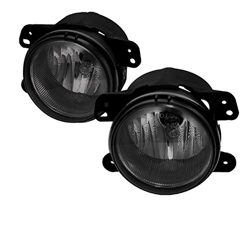 Spyder Auto FL-DM05-SM Dodge/Chrysler/Jeep Smoke OEM Fog Light (Jeep Smoke Fog Lights compare prices)