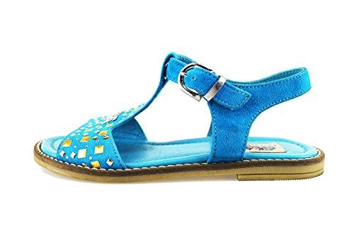 CESARE PACIOTTI 4US sandali donna celeste camoscio AH937 (36 EU)