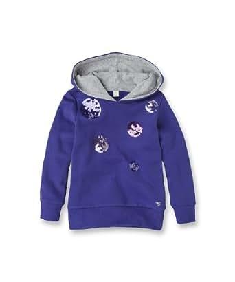 ESPRIT Tops à capuche À capuche Manches longues Fille - Violet - Violett (570) - FR : 4 ans (Taille fabricant : 104/110)