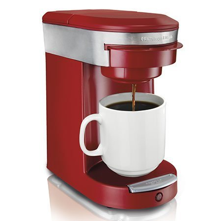 Hamilton Beach 49973 Dcm Personal Cup Pod Brewer- Red Best
