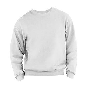 Fruit Of The Loom - Sweatshirt - Homme (S) (Blanc)