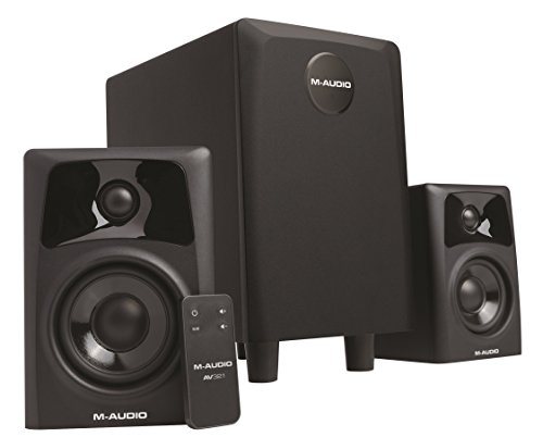 m-audio-av321-compact-active-desktop-reference-monitor-speakers-with-subwoofer-for-premium-playback-