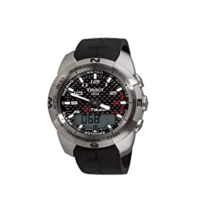 Tissot Men's T0134201720200 T-Touch Expert Black Designed Dial Watch
