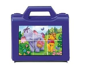 Ravensburger - Puzzle enfant - Winnie l'Ourson Et Les Amusants éfélants - 6 Pièces