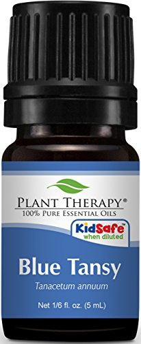 Plant Therapy Blue Tansy Essential Oil. 100% Pure, Undiluted, Therapeutic Grade. 5 mL (1/6 Ounce).