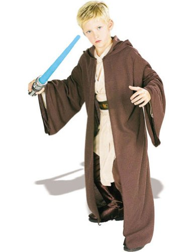 Jedi Robe Deluxe Child Md Kids Boys Costume