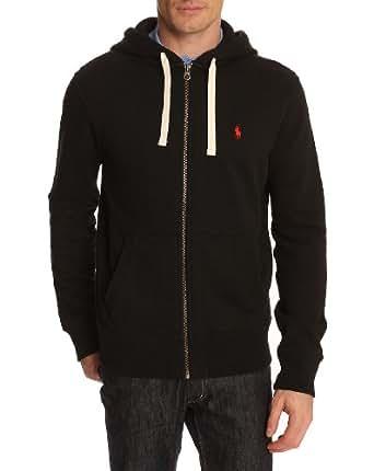POLO Ralph Lauren - Sweats à capuche - Homme - Sweatshirt Zippé Noir - L
