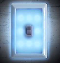 Night Light Wall Switch - Battery Operated - Set of 2 - by TechTools