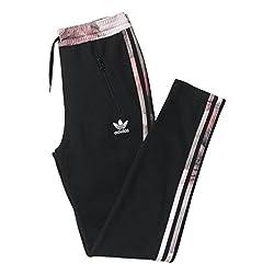 adidas Originals Girls' Trousers (AB2116140_Black_10 - 11 years)