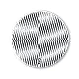 ポリ - 平面 - 5.25インチラウンドフラッシュマウントマリンスピーカー(ペア)