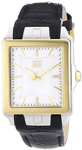 Cerruti Ladies Watch ODISSEA CRC014Y212A Analogue Display and Gold Leather