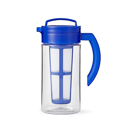 Small Pure Blue Infusion Pitcher by Teavana (Teavana Infuser Pitcher compare prices)