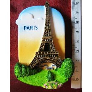 Eiffel Tower Paris France Europe High Quality Resin 3D fridge Refrigerator Thai Magnet Hand Made Craft