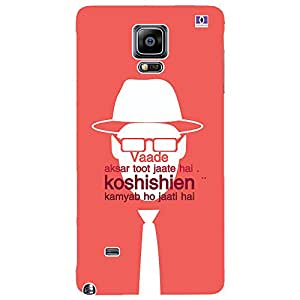 Koshishien - Mobile Back Case Cover For Samsung Galaxy Note 4 Edge