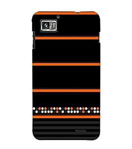 Colorful Dots Pattern 3D Hard Polycarbonate Designer Back Case Cover for Lenovo K860