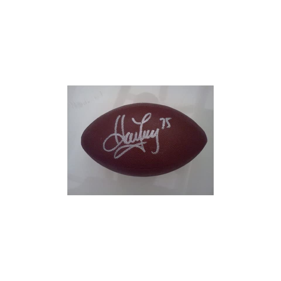 Howie Long Signed NFL Football
