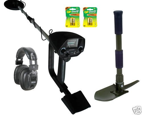 Discriminating Metal Detector (Kit: H/Phones Batts  &  Pick)