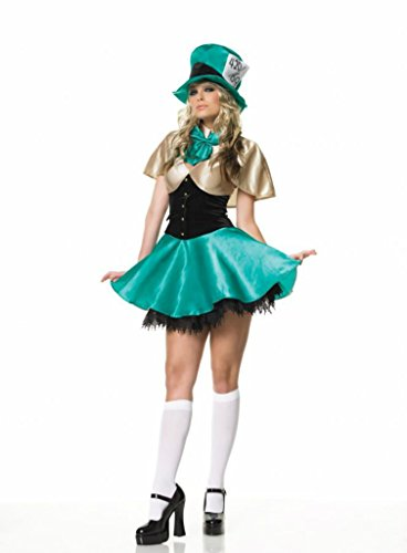 Leg Avenue Womens Tea Party Hostess Outfit Fancy Dress Sexy Costume