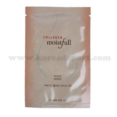 ETUDE HOUSE Collagen Moistfull Mask Sheet (5sheets) Korean Beauty [Imported] тканевая маска для лица etude house wonder pore black mask sheet