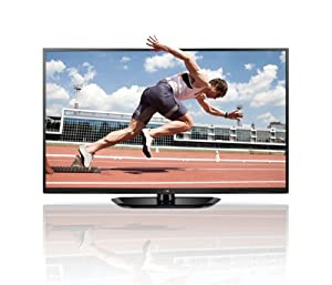 LG 60PH6608 152 cm (60 Zoll) 3D Plasma-Fernseher (Full HD, DVB-T/C/S, 600Hz, Smart TV) schwarz
