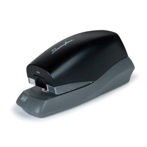 Swingline Breeze Automatic Stapler, Battery Powered, 20 Sheets, Black (S7042132)
