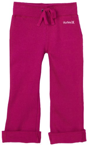 Hurley Little Girls' O&O Comfy Pant, Jellyfish, 3T