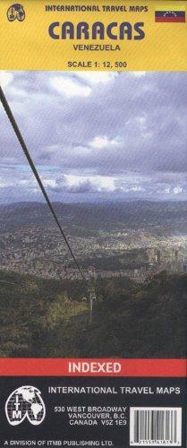 Caracas (Venezuela) 1:12,500 Street Map