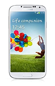 Samsung Galaxy S4 Smartphone débloqué 4.99 pouces 16 GB Android 4.2 Jelly Bean Blanc (import Europe)