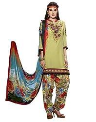 StarMart Womens Cotton Patiyala Dress Material VOL 27 - 3752