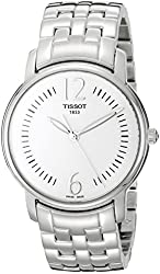 Tissot Women's T052.210.11.037.00 Silver Dial Lady Round Watch
