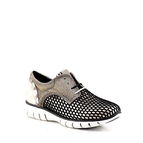 Felmini - Scarpe Donna - Innamorarsi com Runner 9479 - Sneakers - textile Genuina - Nero - 41 EU Size