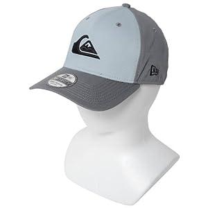 Quiksilver - - Herrenberg Und Welle Flexfit Hat, Small/Medium, Metal