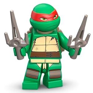 LEGO TMNT - RAPHAEL V1 Minifigure - Teenage Mutant Ninja Turtles
