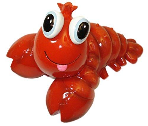 Bobble-eye Lobster Ceramic Piggy Bank