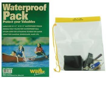 Waterproof Pouch - Large 14-Inch (Great For Binoculars)