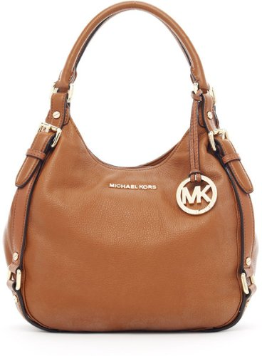 Michael Michael Kors Bedford Medium Shoulder Tote Luggage