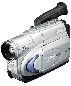 JVC GRSXM260US Compact S-VHS Camcorder with 16x Optical Zoom
