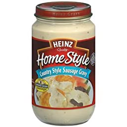 Heinz Homestyle Country Style Sausage Gravy, 12 Ounce -- 12 per case.