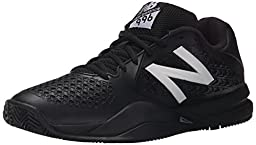 New Balance Men\'s MC996V2 Tennis Shoe, Black, 13 2E US