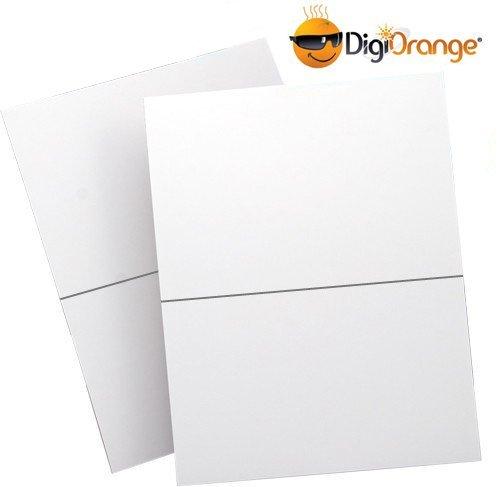 DigiOrange 200 Shipping Labels Half Page Self Adhesive for
