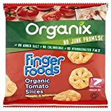 Organix Finger Foods Organic Tomato Slices Stage 2 From 7+ Mths 20G
