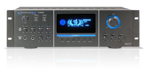 Technical Pro Ia640 Integrated Amplifier With Multicolor Led Display