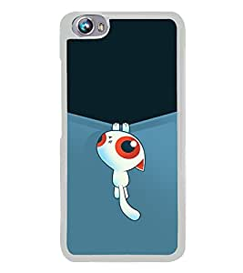 Cute Cartoon 2D Hard Polycarbonate Designer Back Case Cover for Micromax Canvas Fire 4 A107