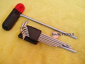9 PIECE STAR / TAMPER TORX / SECURITY KEY WRENCH TOOL