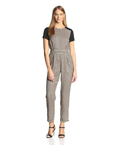Vince Camuto Women's Graphic Basket Jumpsuit