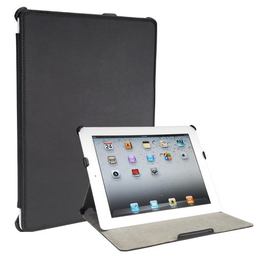 Toblino 2: Leather iPad 2 Case (Folio Convertable Case Multi-angle Stand for the Apple iPad2)