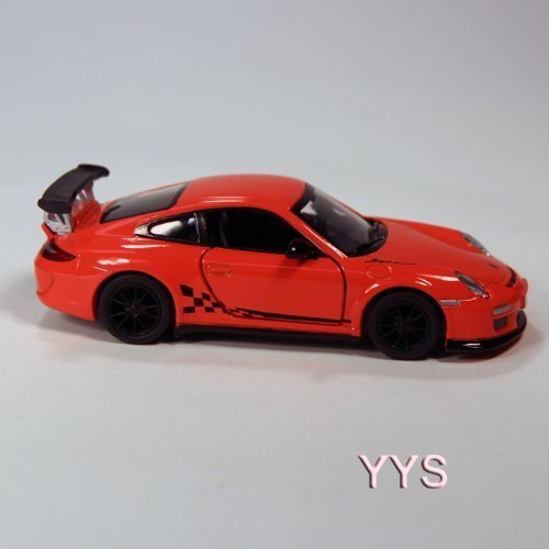 Porsche 911 GT3 RS Die Cast 1:36 Scale - Orange - 1